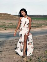 For Wild People Lemons Dreams Maxi Dress A Summer of Love and Free Fox Bohemian