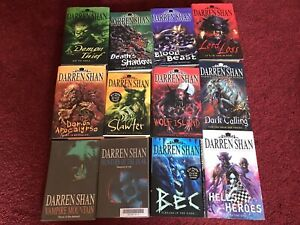 DARREN SHAN / No.1 MASTER OF HORROR - BOOKS BUNDLE x 12 - VGC/COLLECT ONLY MK