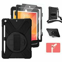 iPad 7th/8th Generation Case with Screen Protector Pencil Holder | Herize iPad