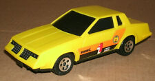 1/30 Scale 1981 Oldsmobile Cutlass Supreme Coupe Plastic Buddy-L Toy Car Yellow