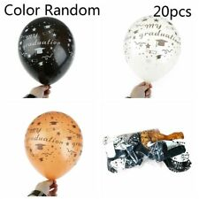 10/20PCS 12 Inch Fashion Inflatable Latex Balloons Graduation Party Supplies