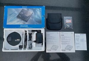 Sony D-99 discman, perfect working condition. With many accessories.