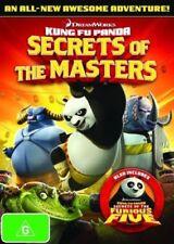 Kung Fu Panda - Secrets Of The Masters / Secrets Of The Furious Five (DVD, 2012)