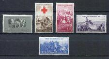 s6809) ITALIA-ITALY REP. 1959 MNH** Indipendenza 5v