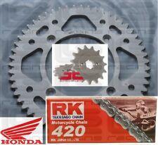 CRF150 Honda. Chain & sprocket kit 15/55 RK420 chain