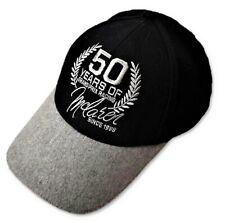 CAP Team Members Formula One 1 McLaren 50 Years Grand Prix Racing F1 NEW! Black