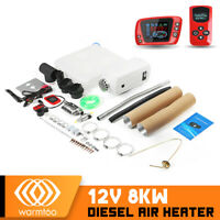12V 8000W Diesel Air Heater LCD Remote Control For Car Boat Trailer RV  *New