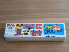 New Unopened Vintage 1985 LEGO Basic Building Set 1562