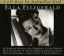 ELLA FITZGERALD - DEFINITIVE GOLD -COLE PORTER, DUKE ELLINGTON BOX-SET 5 CD NEUF