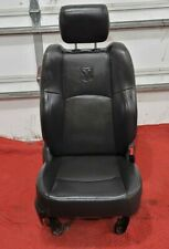 Passenger Front Seat Bucket Leather Fits 09-16 DODGE Ram Pickup Black Heat Cool