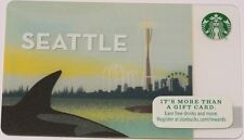 Starbucks 2015 Seattle Space Needle Card New Limited Edition