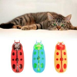 Electric Bug Cat Toy Cat Escape Obstacle Automatic Toy Flip Pet G7V6