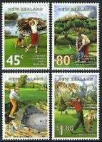 1995 New Zealand~Golf~Unmounted Mint~Stamp Set~ UK Seller~