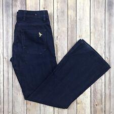 MiH New York Jean Dark Wash Cotton 5 Pocket Boot Cut Jeans Size 26 Denim