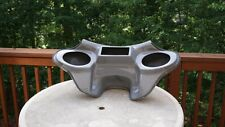 Harley batwing fairing Softail Heritage Fatboy Deluxe fairing 6x9 speaker Gray