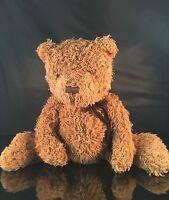 "Brown Shaggy Bear, 16"" Artist bears unlimited, plush stuffed Shaggy Adam cute"