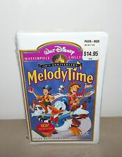 WALT DISNEY MASTERPIECE COLLECTION MELODY TIME 50th ANNIV  VHS MOVIE MINT/SEALED