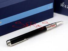 Waterman perspective bolígrafo Ballpoint pen charol negro paladio