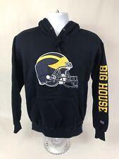 VTG Champion NCAA Michigan Wolverines Pullover Hooded Sweatshirt Size Small