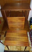 WESTNOFA NORWAY NEST OF 3 TABLES TEAK