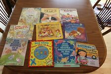 10 Counting Math Numbers Count Picture Books Lot Children's Teacher Times CD