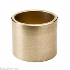AM-081212 8x12x12mm Sintered Bronze Metric Plain Oilite Bearing Bush