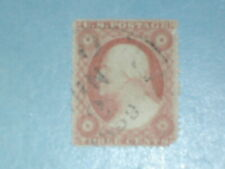 3 cent Washington, Series 1857-61 (SC 26) Used