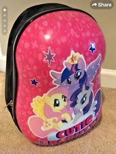My Little Pony Deluxe Luggage Carry Backpack Kids 13 Inch Travel Bag USA Seller