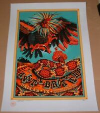 Dig My Chili Avett Brothers Dallas Poster Print Signed Numbered Art 2016