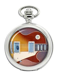 Les Paul Guitar Pocket Watch