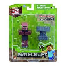 New Series #2 Minecraft Overworld Villager Blacksmith Figure Fully Articulated