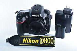 Nikon D800E 36.3 MP Digital SLR Camera - Black (Body Only) Shutter=30k