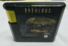 """Populous (Sega Genesis, 1990) """"  Authentic """""""