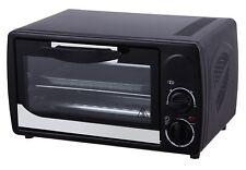 Minibackofen Backofen Miniofen Ofen Pizzaofen mit Timer 12 L 1000 Watt
