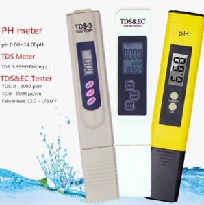 Ph Digital Meter 4 1 Tds Ec Temperature Atc Tester Lcd Aqoter Water Quality Test