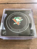 Rare Pittsburgh penguins St Patrick's Day Official game Puck