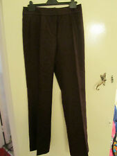 Next Dark Purple 100% Wool Felt Trousers in Size 10 L - L34 - NWT - mislabelled