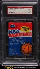 1986 Fleer Basketball Wax Pack PSA 9 MINT