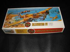 Airfix Bristol Blenheim IV 1/72 Retro Modelo de Avión Kit 02027-1 ser 2 Cat 257