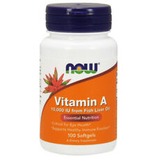 Vitamin A, 10.000iu x 100 Softgels - NOW Foods