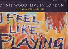 """RONNIE WOOD """"Live in London"""" 3 colored LP BOX Set Limited Edition of 500 RARE ss"""