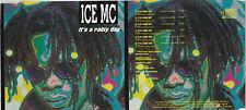 MAXI CD SINGLE 6 TITRES ICE MC IT'S A RAINY DAY DE 1994 TBE