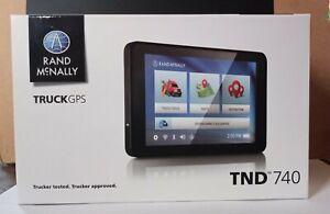 "Rand McNally TND740 7.0"" GPS Navigator Truck"
