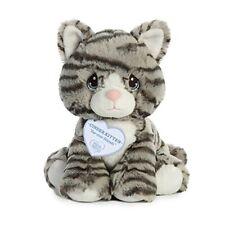 Aurora World Precious Moments Plush Toy, Gray Stiped Cat