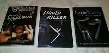 Morgan Strebler Mentalism 3 Dvd Metal Bending Spoon Fork Uri Geller