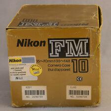 Nikon FM10 Only case Excellent condition