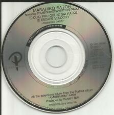 MASAHIKO SATOH w/ EDDIE GOMEZ & STEVE GADD PROMO JAPAN MINI 3 INCH CD single CD3