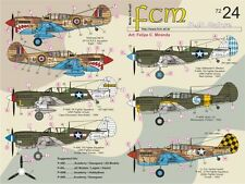 FCM 1/72 Curtiss P-40E/P-40L/P-40M/P-40N # 72024