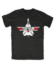 Top Gun T-Shirt Schwarz Tom Cruise-Fun-Kult,Maverick