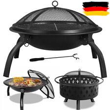 Feuerschale BBQ Grill Funkenhaube Gartenfeuer Feuerstelle Garten Terrasse DHL